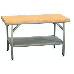 Arbeitstisch mit Buchenholzplatte