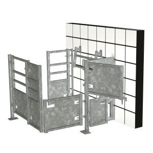 Betäubungsbox für Rinder und Schweine