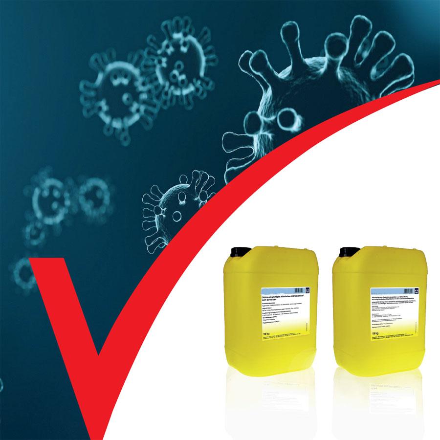 Desinfektionsmittel für Oberflächen mit Bioethanol, ArtNr.: CAL_DSMO1_BE