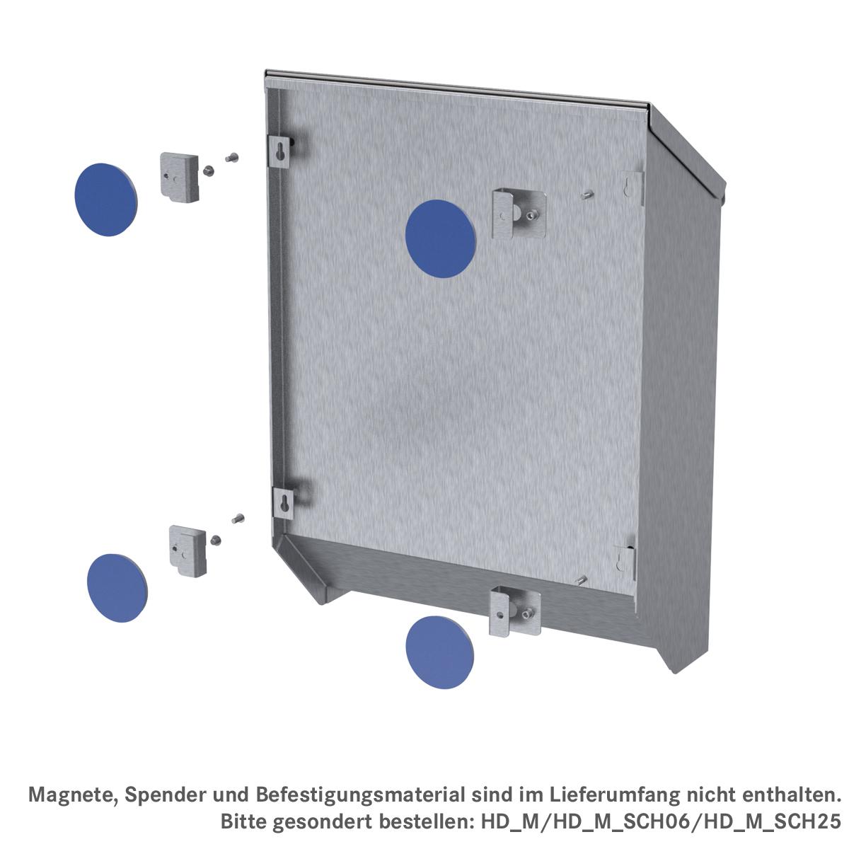 Adapter-Set für Sailer Spendersystem EWSP, ArtNr.: HD_M_AS_EWSP