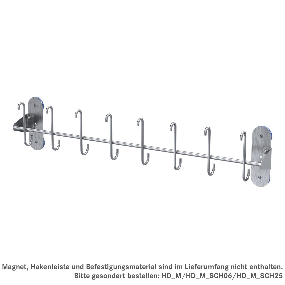 Adapterplatte für magnetische Montage von NTF-Leisten, ArtNr.: HD_M_NTF