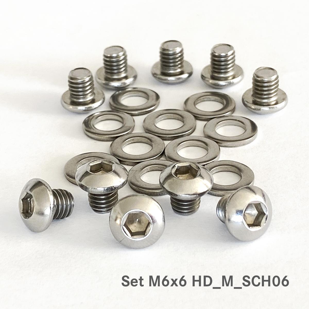 Befestigungsschrauben für Sailer Hygienic Design Magneten, ArtNr.: HD_M_SCH