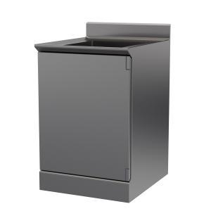 Hygienic Design Reinraum-Spültisch einflügelig, ArtNr.: HYG_RSPT1