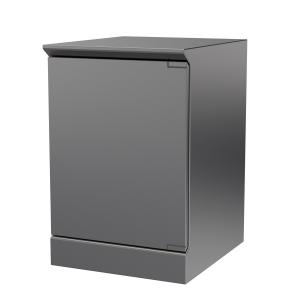Hygienic Design Reinraum-Schranktisch einflügelig, ArtNr.: HYG_RSRT1