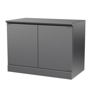 Hygienic Design Reinraum-Schranktisch zweiflügelig, ArtNr.: HYG_RSRT2