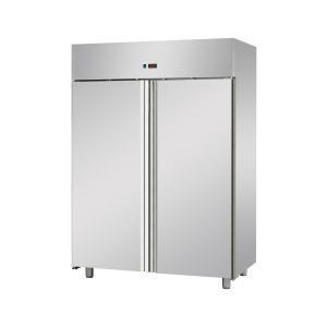 Edelstahl-Umluft-Tiefkühlschrank GN 2/1