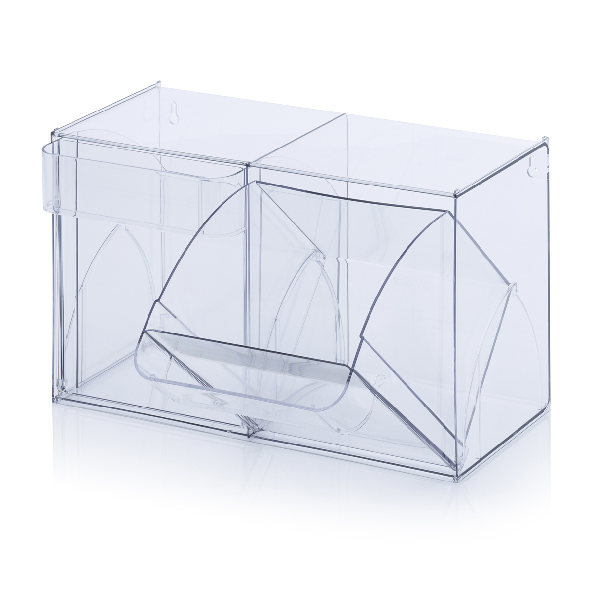 Transparente Kunststoff-Kippbehälter, ArtNr.: KSKBH