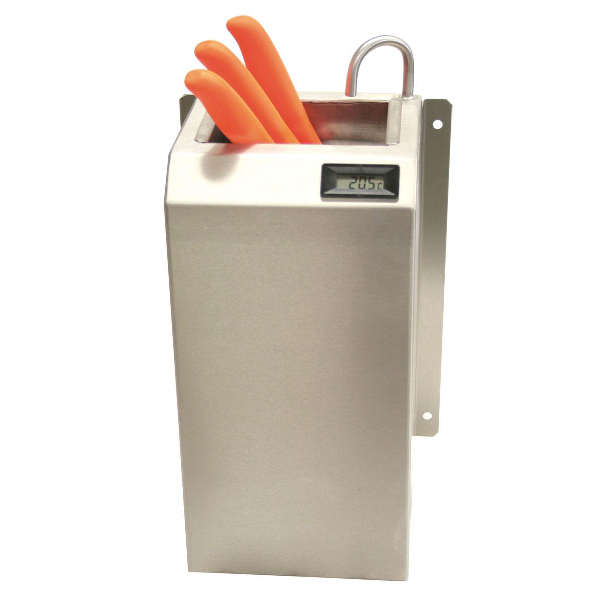Messer-Desinfektionsbecken mit digitaler Temperaturanzeige, ArtNr.: MB-TA