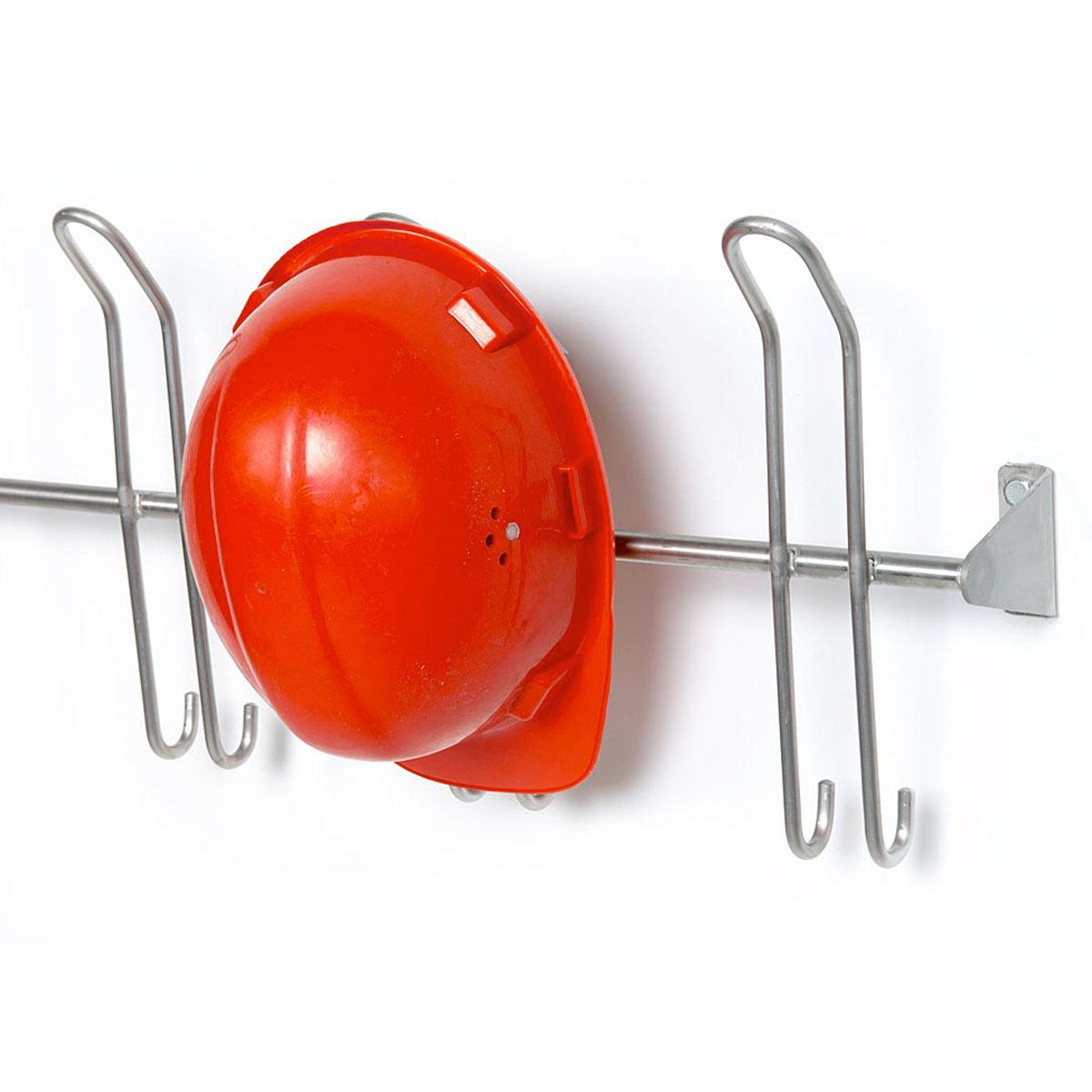 Kleiderhakenleiste mit Helmhaltern, ArtNr.: NTF02625H
