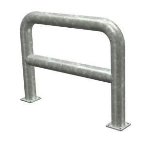 Rammschutz-Geländer zum Aufdübeln