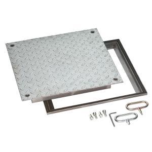 Schachtabdeckung mit Platte, ArtNr.: SCH_RVE