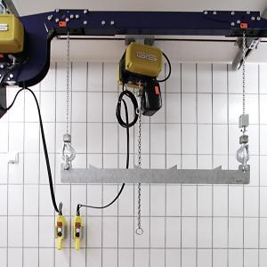 Synchron-Kettenzug 2 x 125 kg